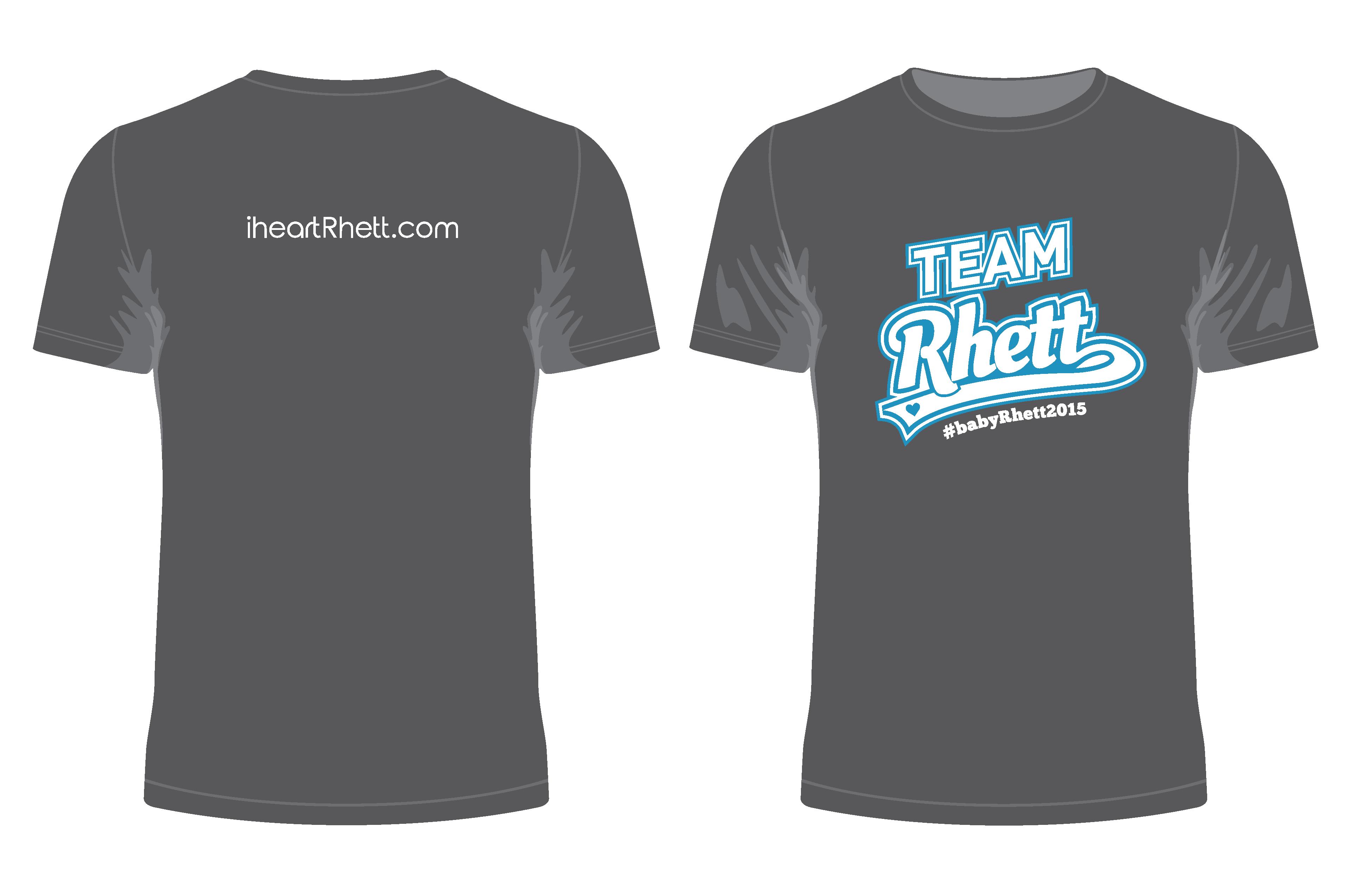Team Rhett Shirt - Charcoal